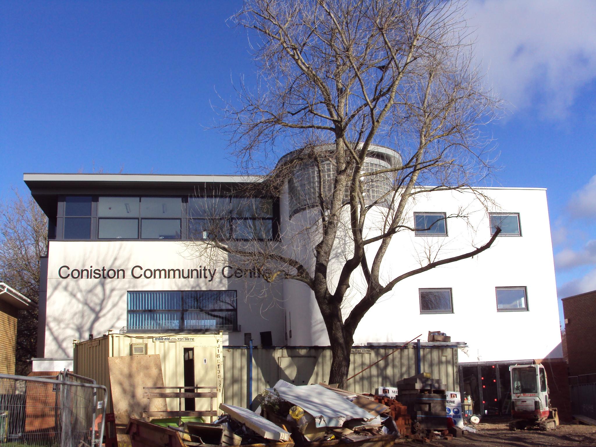 Coniston Community Centre Pro Structures Ltd