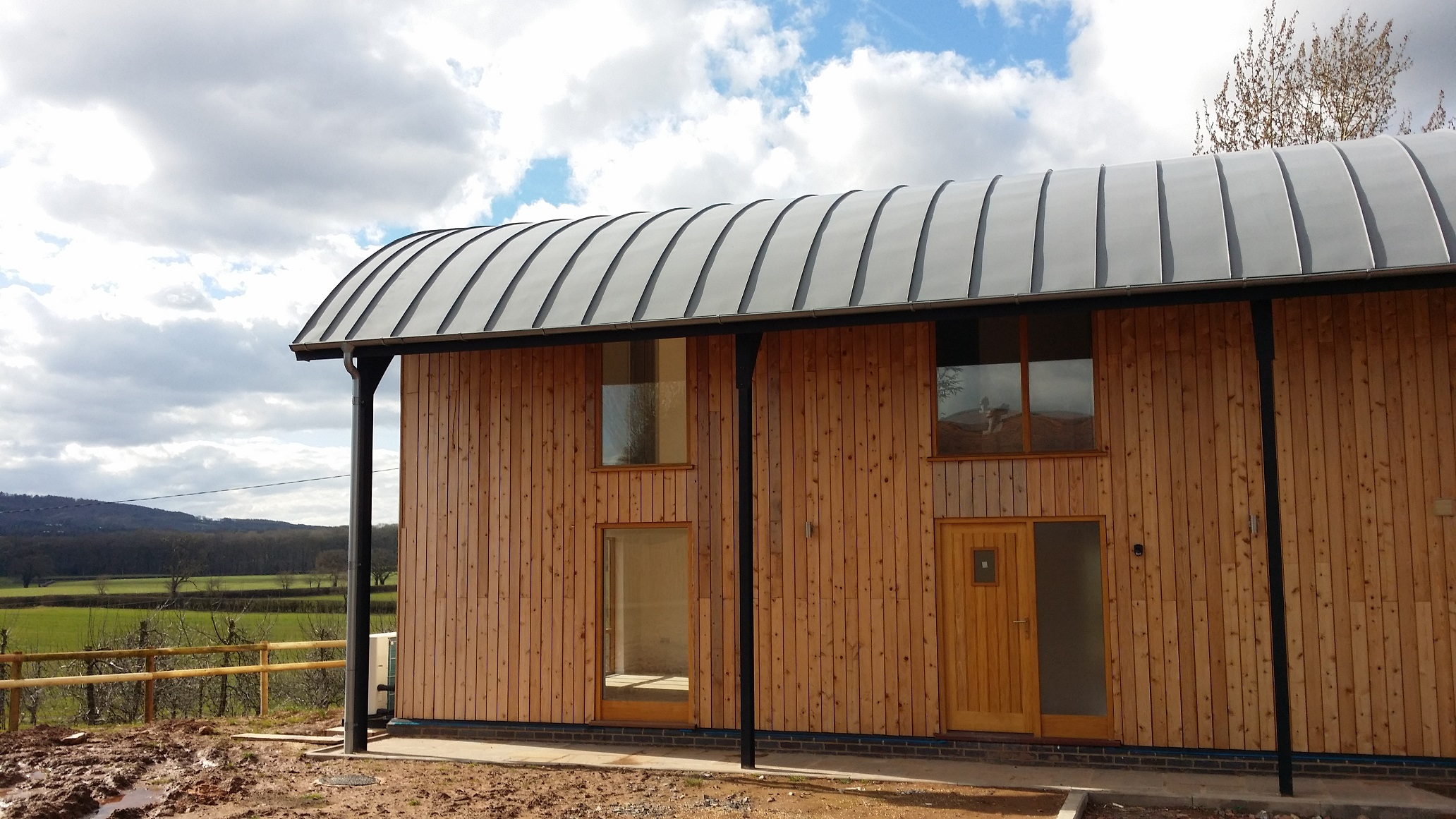 Barn conversions getting the most from agricultural for Dutch barn shed plans