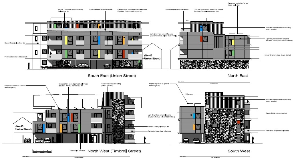 Union House architectural drawings_Clear Future | PRO Structures